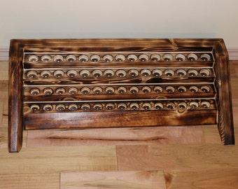 Wood shelf, Essential Oil Shelf, Oil Rack