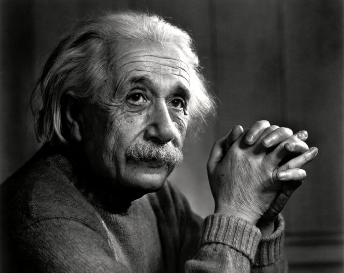 Theoretical Physicist Albert Einstein - 5X7, 8X10 or 11X14 Photo (EP-965)