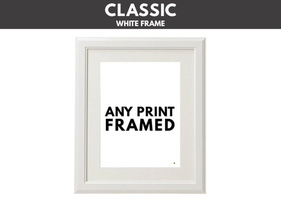 Get Any Print Framed Matted 12x16 Or 16x20 From