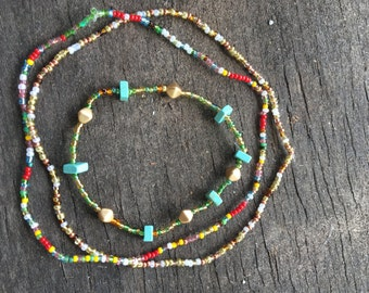Festival Fun- Two chokers and Bracelet