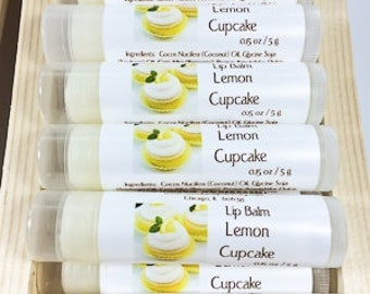 Lip Balm - Lemon Cupcake