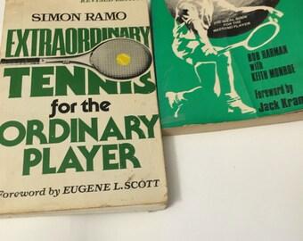 Tennis ...2 vintage tennis books