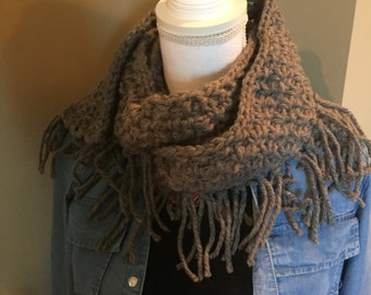 Simply Fringly Scarf