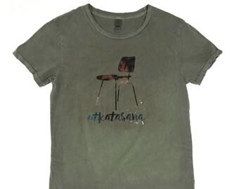 Utkatasana (T for guys)