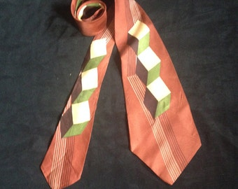 1950's Vintage Men's Neck / Original Van Heusen-van cruise /