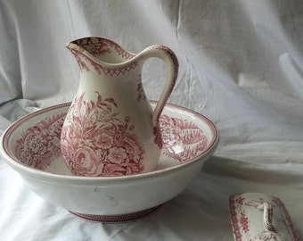 Porcelain set for cleaning