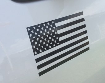 Large American Flag Decal