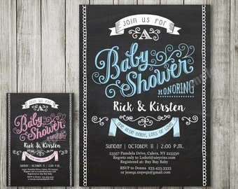 Vintage invitation - Vintage Baby shower - Vintage baby shower invitation - Vintage invitation - baby shower invitation