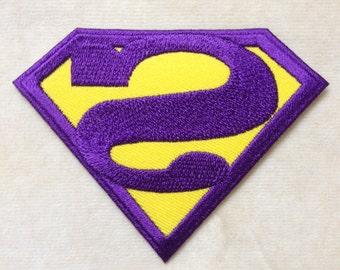 Supervillain Bizzaro Iron On Patch