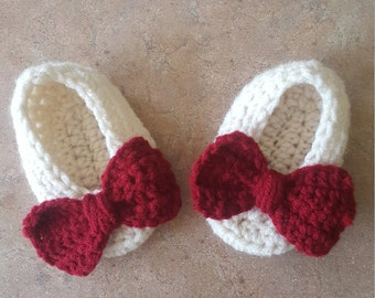Girl's Bow Booties