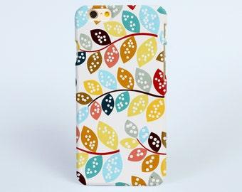 iPhone 6 Case Colorful leaves, iPhone 6s Plus Case, iPhone 6s Case, Art iPhone 5s Case, iPhone 5c Case, iPhone 4 Case, Samsung S6 edge