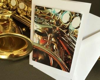 Beautiful saxophone map.