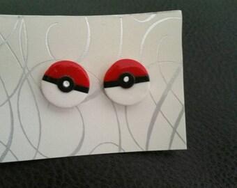 Pokémon earrings