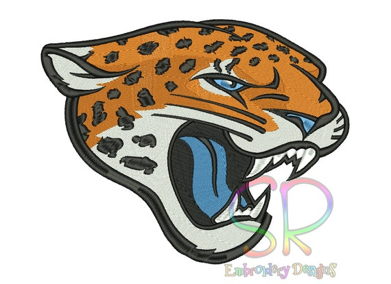 Jaguars Embroidery Designs