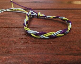 All natural woven bracelet