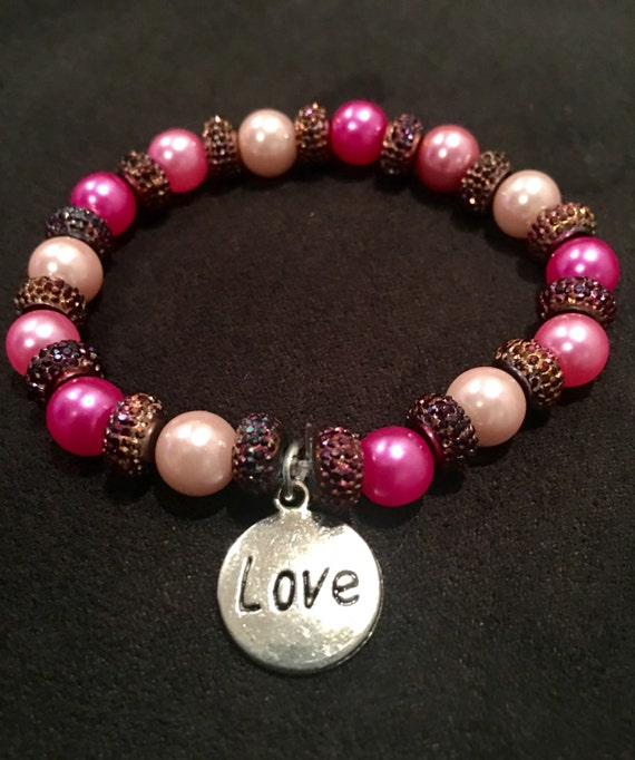 Breast Cancer Awarness Bracelet