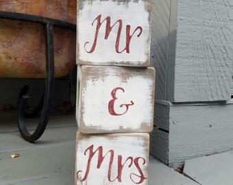 Mr. & Mrs. Custom Blocks
