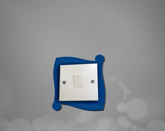acrylic light switch surround light switch plate light switch cover plug surround