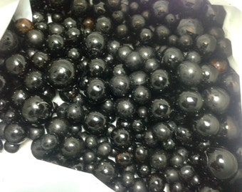 Black Coral Beads 300 grams