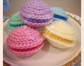 Gift Set Macaron Sampler (Handmade Crochet Cat Toy)