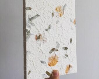 pinnate leaf notebook