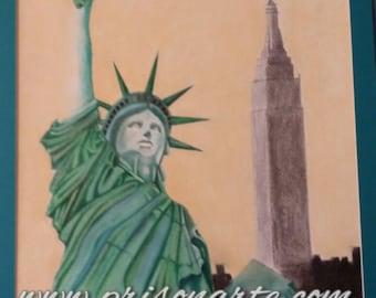PA115 - Miss Liberty- Artist Che