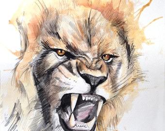 Fury lion