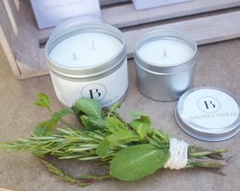 Woodland Mist -Small soy wax candle