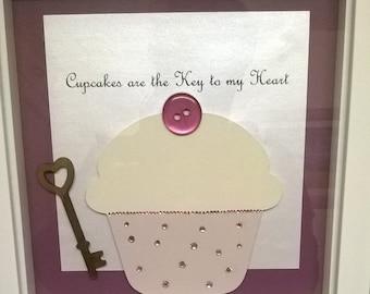 Handmade Cupcake Box Frame