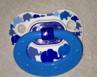 Reborn Baby Blue Pacifier