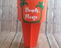 Personalized Beach Spiker cups