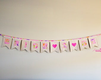Bunting - Bride 2 Be - Floral