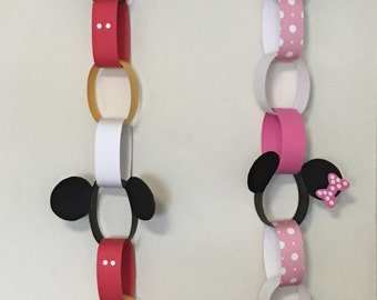 Mickey/Mickey hanging decorations