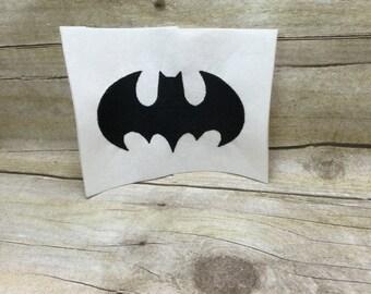 Batman Logo Embroidery Design, Bat Embroidery Design