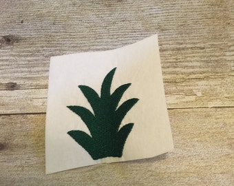 Pineapple Top Embroidery design,Pinapple Top Applique