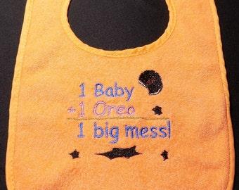 1 Big Mess - Terry Cloth Bib