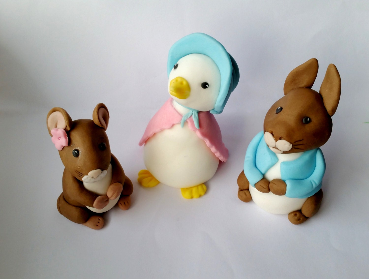 Beatrix Potter Edible Cake Toppers