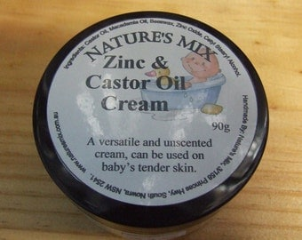 Zinc and Castor Oil Cream **90g**