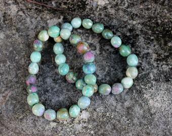 FREE SHIPPING Ruby Fuchsite crystal bracelet