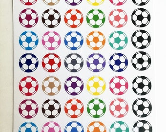 Soccer Ball Planner Stickers