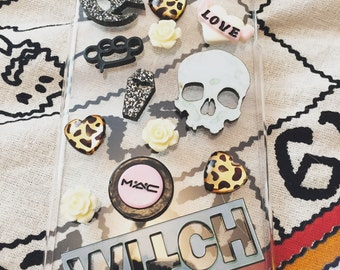 The Witching Hour Handmade Decoden Kawaii Phone Case for iPhone 6 Plus