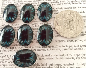 7 Oval Cabochons