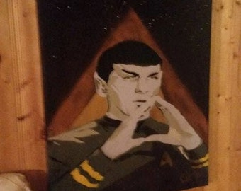 Spock painting