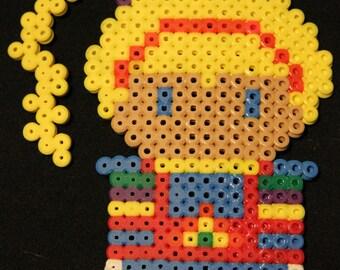 Rainbow Brite Perler Bead Sprite