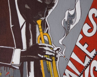 Miles Davis Original Illustration