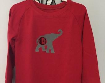 Elephant Alabama Boys Waffle Shirt