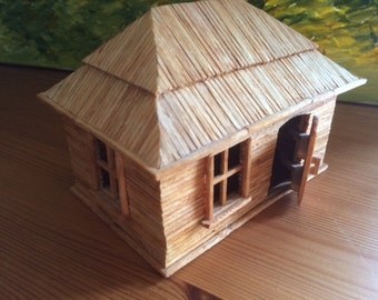 Folk Art, Matchstick House