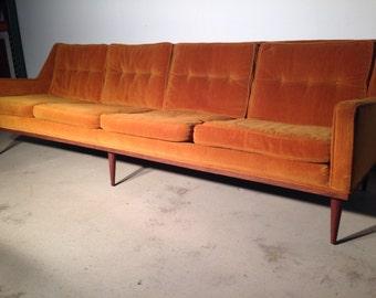 Milo Baughman for James Inc. 4 Seat Sofa