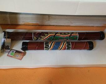 Wooden Rainstick (small size)