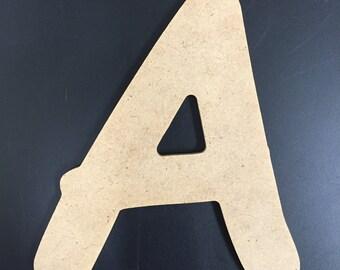 "Unfinished Wood Letters - 1/4"" MDF - Comic Sans MS Font"